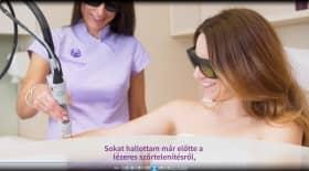 Embedded thumbnail for Bolla Viktória lézeres szőrtelenítő kezelése