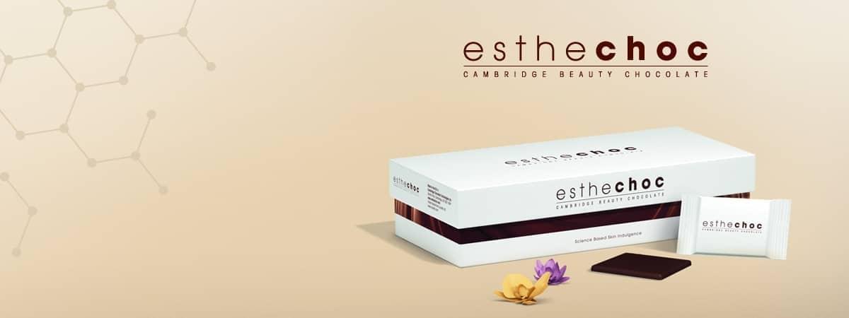 Esthechoc - a világ első ehető kozmetikuma