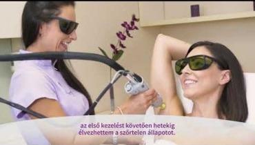 Embedded thumbnail for Köböl Anita lézeres szőrtelenítő kezelése