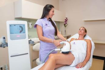 Narancsbőr kezelése Velashape rendszerrel