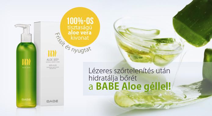 Babe Aloe gél